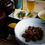 末廣屋 - カツオ角煮定食¥1,100-