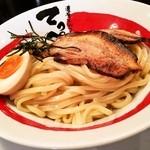 北井てっぺい - つけ麺は極太麺
