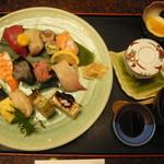 21301993 - 寿司定食 むさし寿司