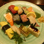 21301994 - にぎり12貫 むさし寿司