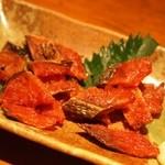龍馬亭 - サーモン薫製炙り