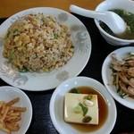 中華料理 聚仙閣 - 炒飯ランチ
