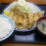 21305707 - 生姜焼定食700円
