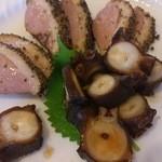 北品川 - 鴨とたこのうま煮