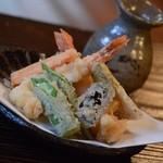 21306824 - 海老とお野菜の天ぷら