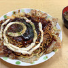 たこ八食堂 - 料理写真:たこ八食堂 鹿児島市 モダン焼500円也