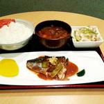 全員酒豪 - 【ランチ】サバ味噌定食 780円