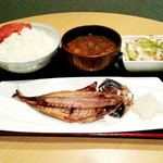 全員酒豪 - 【ランチ】焼アジ定食 780円