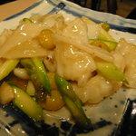中国四川料理天悠 - モンゴウイカとアスパラの炒めもの