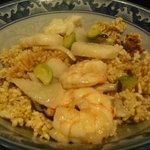 中国四川料理天悠 - 海鮮おこげ