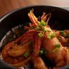 Orange Concept - 料理写真:天使の海老のガーリックオイル煮