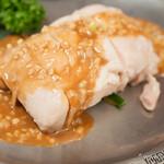 味の中華 羽衣 - 棒棒鶏【2013年9月】