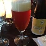 ホテルシャンベール - ドリンク写真:青山高原ビール