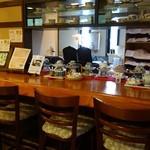 伊万里鍋島焼会館 軽食・喫茶コーナー - (2013/8月)喫茶コーナーカウンター席