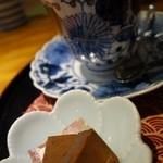 伊万里鍋島焼会館 軽食・喫茶コーナー - (2013/8月)ホットコーヒーについていた生チョコ