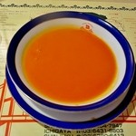 BOSPHORUS HASAN - ランチセットのスープ(トマトのスープ)