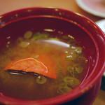 かっぱ寿司 - かに味噌汁~☆