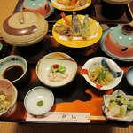 小安峡のお宿  秋 仙 - 料理写真:夕食