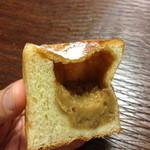 21317181 - イタリア栗のクリームパン(断面)