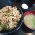 伝説のすた丼屋 - すた丼¥630
