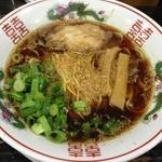 金久右衛門 - 金胡麻しじみ 紅バージョン 細麺 (750円)