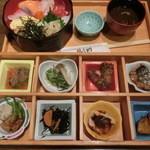 21320499 - おばん菜御膳・1380円