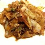 栄楽飯店 - 肉野菜味噌炒め  600円