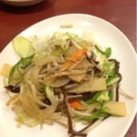 栄楽飯店 - 野菜炒め  350円