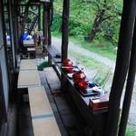 本丸茶屋 - テラス席(ペット可)