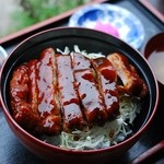 本丸茶屋 - ソースかつ丼