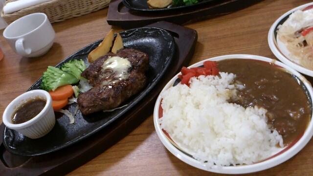 ステーキハンバーグ&サラダバーけん 飯田店