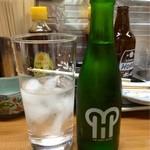 松竹 - 緑茶割り