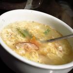七厘亭 - 卵スープ380円