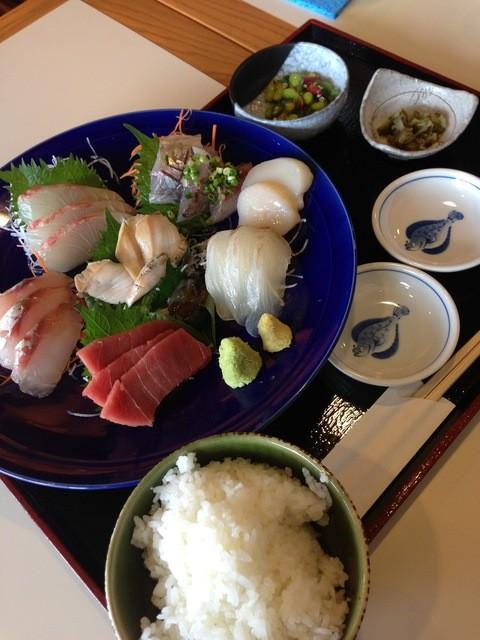 横濱屋本舗食堂 - 13/08/08 お刺身定食(松)