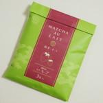21325108 - 抹茶・オ・レ《いちご》(\500、2013年8月)