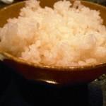 こうじん - 白ご飯(メニューはありませんが、言えば頂けます)