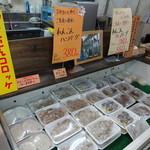 小田商店 - 蓮根を使った惣菜たち