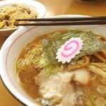 麺屋 中川 - あっさり醤油らーめん(๑´ڡ`๑)