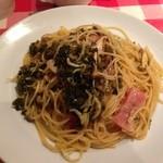マンマミーア - 高菜ときのこの和風パスタ