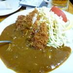カレーコーナー三原 - カツカレーのアタマ (カツカレーは700円)