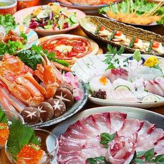 氷見・新湊産の新鮮な魚介類