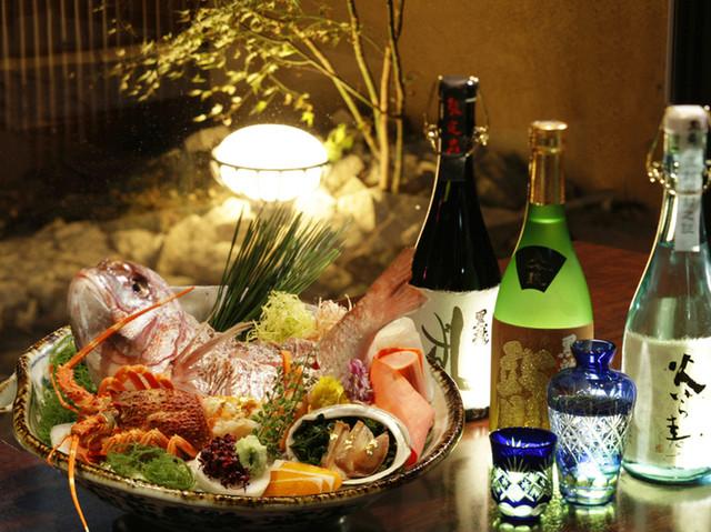 隠れ房 御庭 - 旬の食材と厳選した地酒をご用意