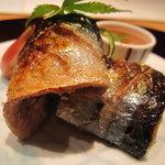 匠 秀げつ - 焼き物(新秋刀魚)