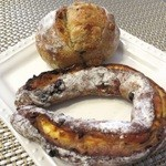 ル シズィエム サンス - フリュイフロマージュ&アールグレイのパン