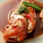 よし味 - 料理写真:北海道産 きんき煮付け