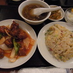 21336997 - スブタセット850円2013年9月17日龍城飯店