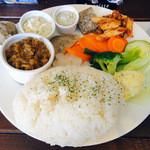 レッドホット - 日替り前菜盛り合わせ+ご飯