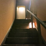 たこの壺 - 3階ですか、長い階段ですね