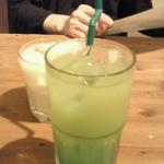 すい - ノンアルコール(パインブルー) ¥350