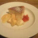 すい - ゴルゴンゾーラのベイクドチーズケーキ ¥480